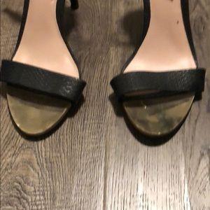 Aldo Shoes - Aldo Heels Black And Gold